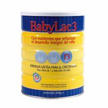 Formula-Lactea-BABYLAC-3-Lata-900g