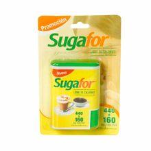 Endulzante-SUGAFOR-Libre-de-calorias-Envase-32.4g