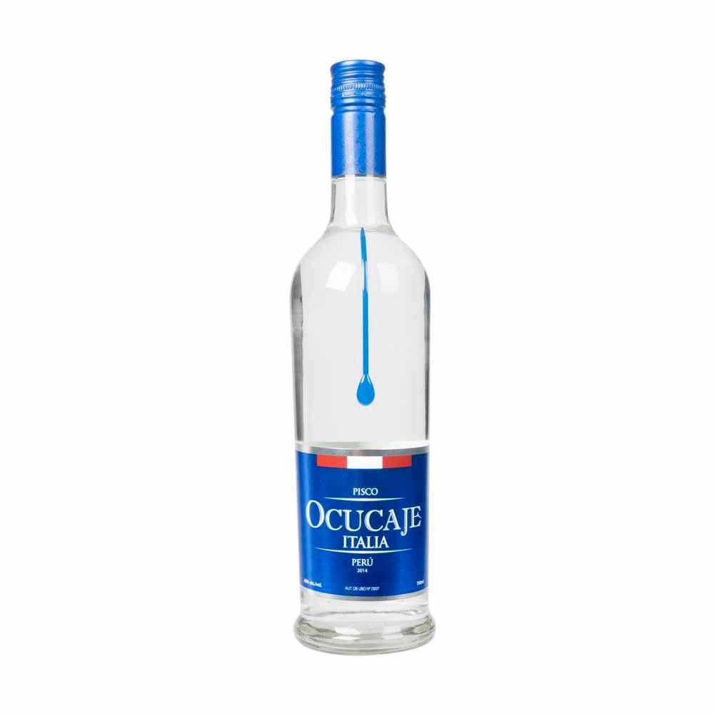 Pisco Ocucaje Italia, grape brandy, 43% vol., Peru, 700 ml, bottle