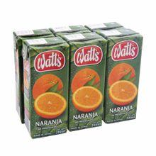 nectar-watts-naranja-6-pack-caja-200ml