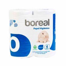 papel-higienico-de-doble-hoja-boreal-paquete-4un