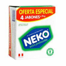 jabon-medicado-neko-extra-proteccion-4pack-300g