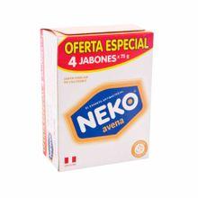 jabon-medicado-neko-avena-proteccion-y-nutricion-4pack-300g