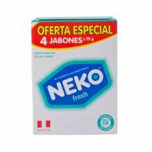 jabon-medicado-neko-fresh-4pack-300g
