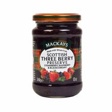 Mermelada-MACKAYS-Tres-bayas-escocesa-Frasco-340Gr