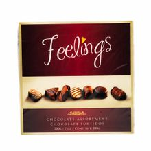 Chocolate-FEELINGS-Sabores-surtidos-Caja-200Gr
