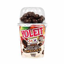 Yogurt-YOLEIT-MIX-Sabor-a-vainilla-con-pasas-y-chocolate-Vaso-125Gr