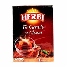 Infusiones-HERBI-Te-canela-y-clavo-Caja-150Gr