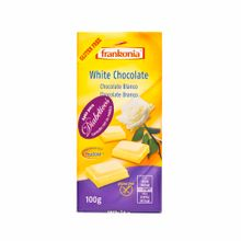 Chocolate-FRANKONIA-WHITE-CHOCOLATE-Blanco-con-fructuosa-Bolsa-100Gr