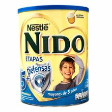 Formula-Lactea-NESTLE-NIDO-5---Defensas-Lata-1600Gr