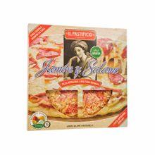 pizza-ilpastificio-jamon-y-salame-paquete-400-gr