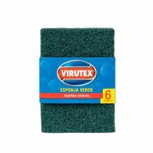 esponja-virutex-de-fibra-verde-paquete-6un