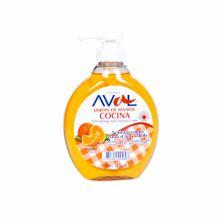 jabon-liquido-aval-naranja-frasco-400ml