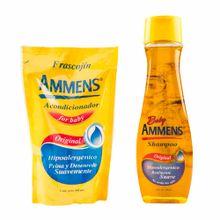 shampoo-para-bebe-ammens-original-frasco-400ml-acondicionador-doypack-400ml
