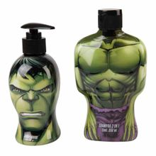 estuche-avengers-hulk-shampoo-2en1-350ml-jabon-liquido