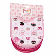 textil-bebe-little-step-babero-x3-1188g-i16