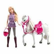 juego-de-nina-barbie-barbie-y-su-caballo-dhb68