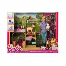 juego-de-nina-barbie-veterinaria-de-granja-dhb71