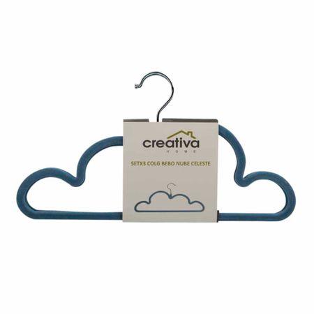 colgador-creativa-bebo-nube-celeste-set-3un