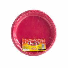 plato-bells-descartable-fucsia-7-paquete-10un