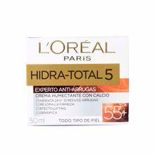 cuidado-facial-loreal-hidratante-total-5-antiarrugas-55-años-50ml