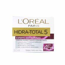 cuidado-facial-loreal-hidratante-total-5-antiarrugas-45-años-50ml