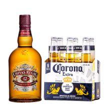 whisky-chivas-regal-12-anos-cerveza-corona