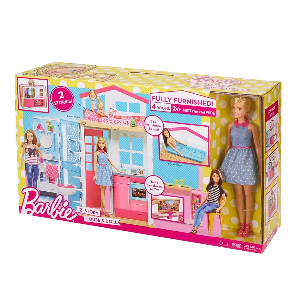 Barbie casa glam de 2 pisos con mu eca plazavea food - Arreglar la casa de barbie ...