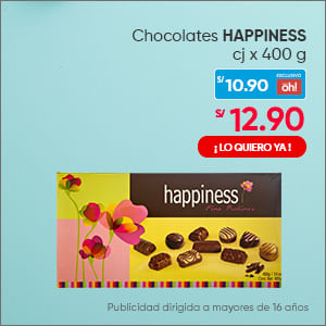 Chocolates HAPPINESS