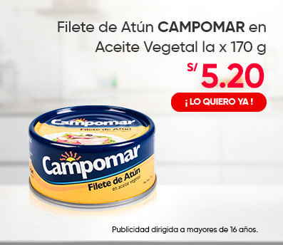 Filete de Atún CAMPOMAR