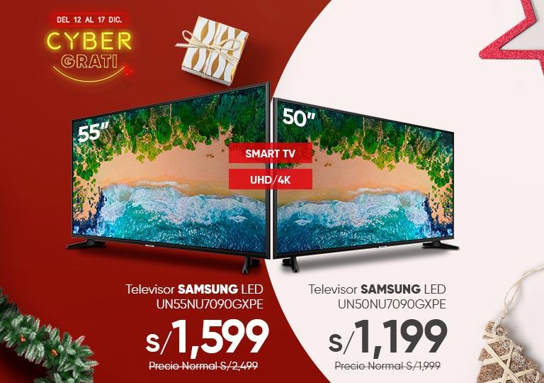 Televisor Samsung Led 50 y 55