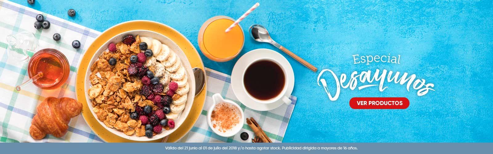 Especial desayunos
