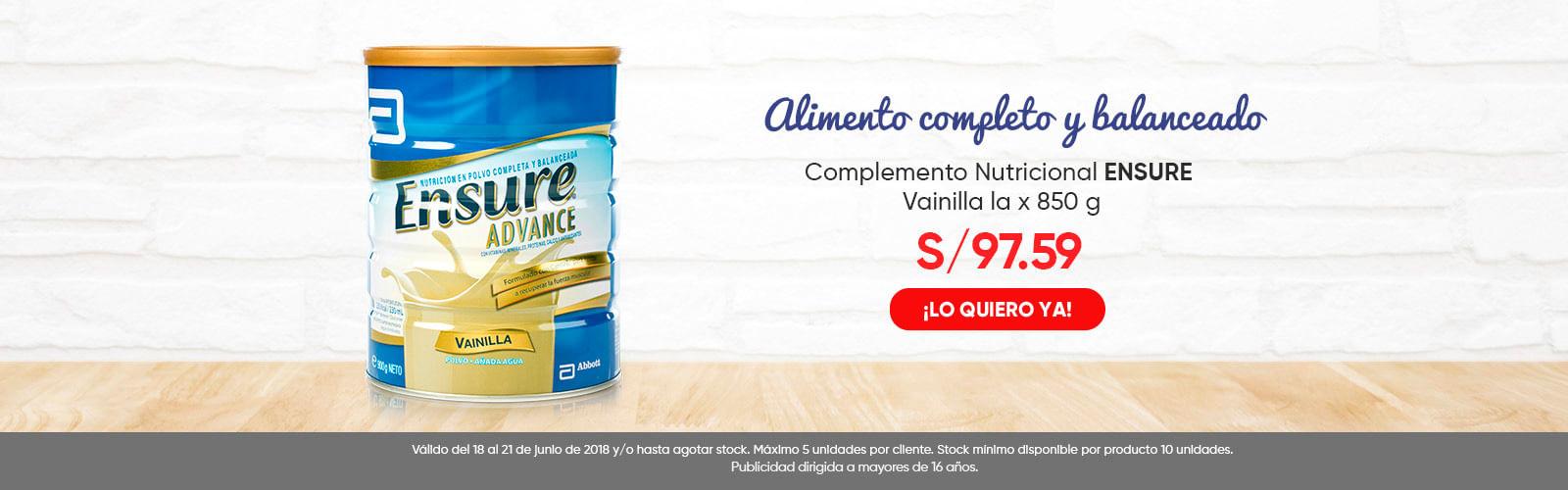Complemento Nutricional ENSURE