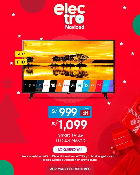 LG TV LED SMART FHD 43- 43LM6300