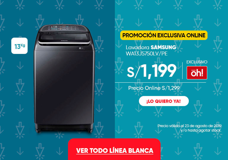 Lavadora SAMSUNG WA13J5750LVPE Refrigeradora MABE RMA250FYPE