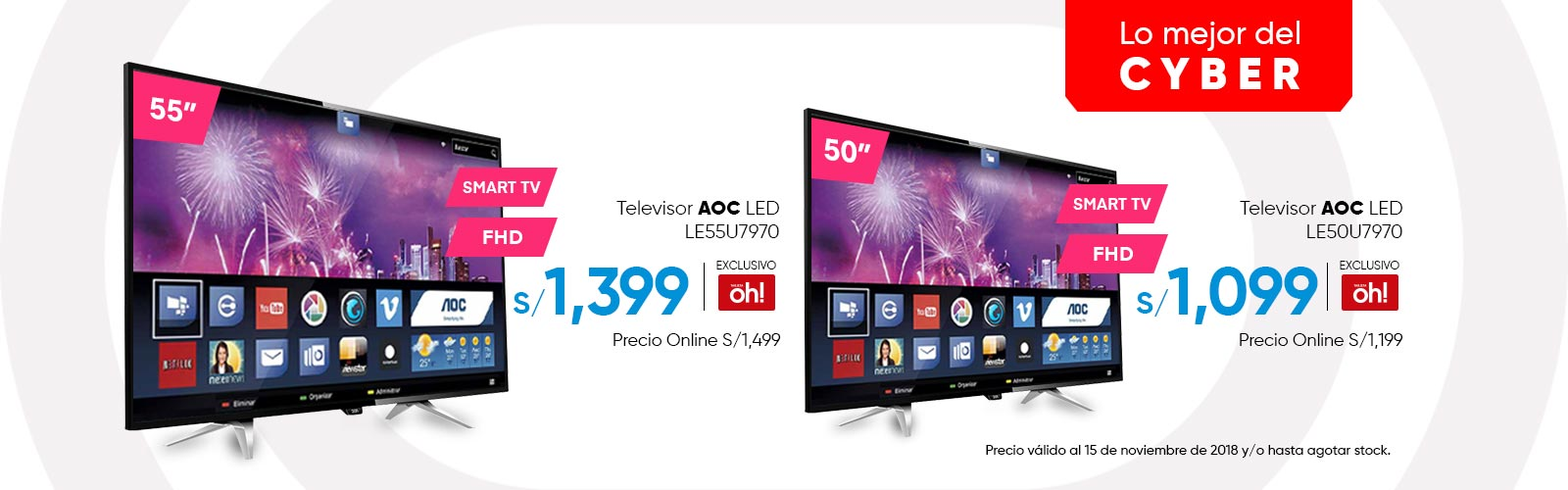 Televisores AOC