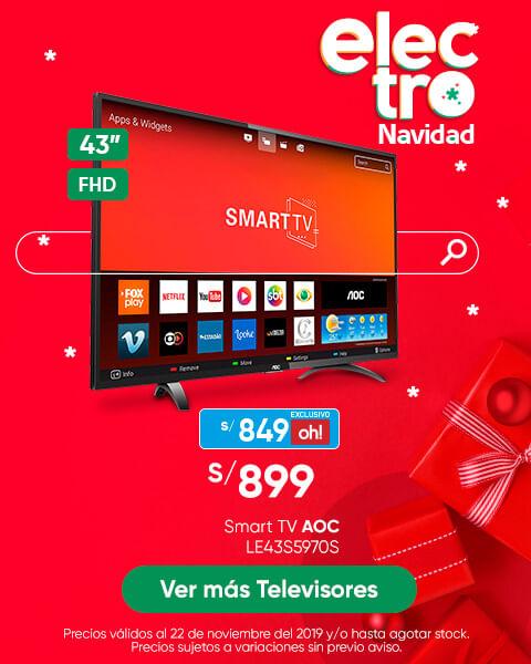 Televisor AOC LED LE43S5970S 65U6285