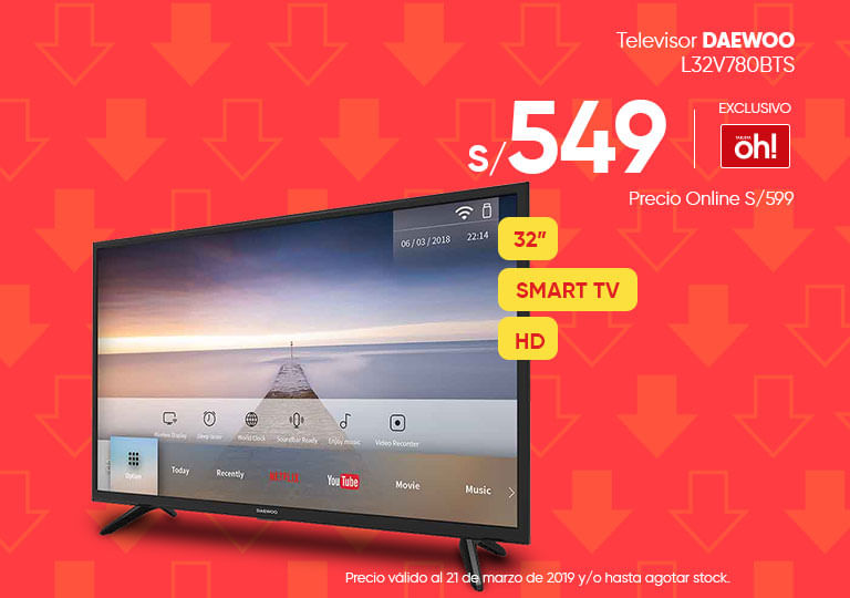 Televisor DAEWOO L32V780BTS