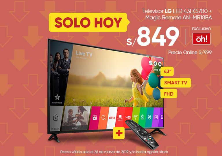 Televisor LG 43LK5700