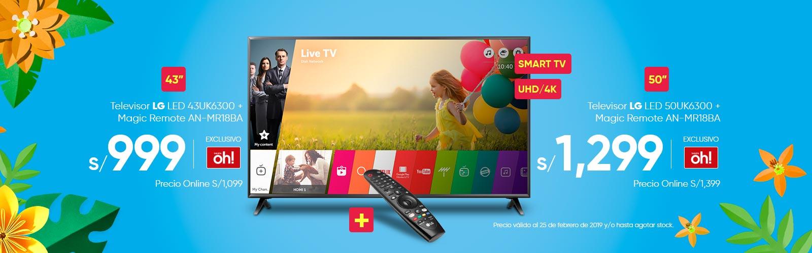 Televisor LG 43UK6300 50UK6300