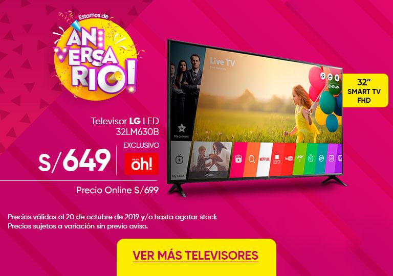 Televisor LG LED 32LM630B 43UM7300