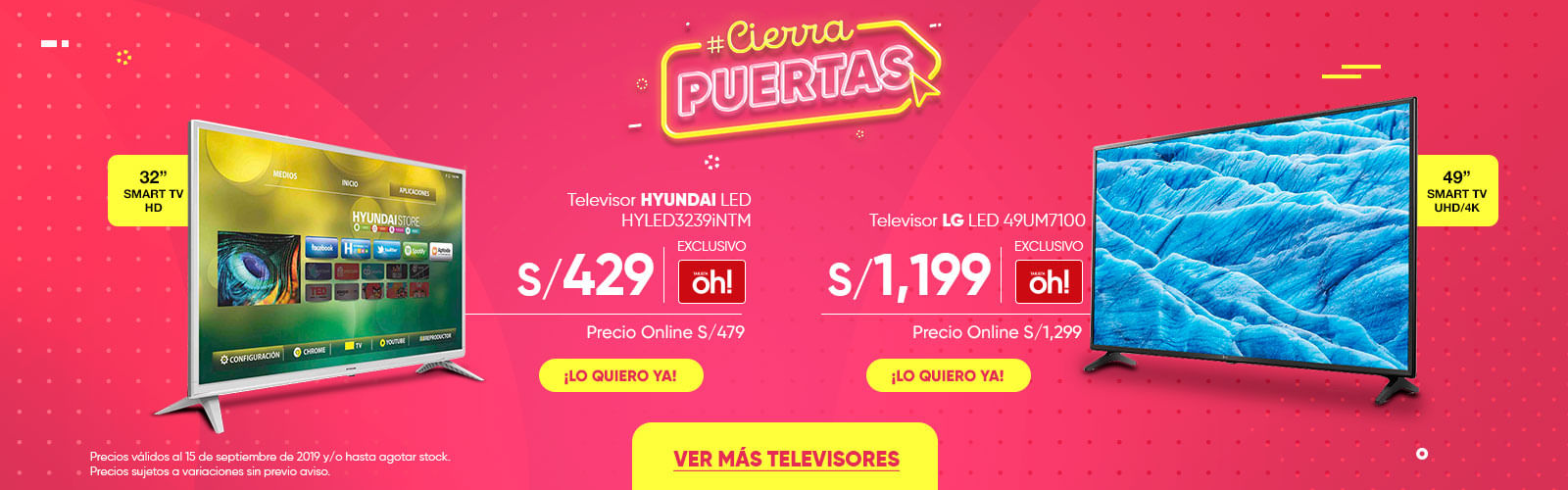 Televisor LG LED 43LM6300 HYUNDAI HYLED3239iNTM