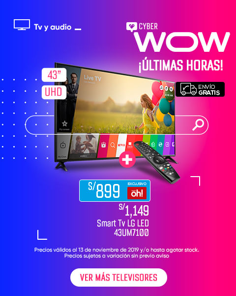 Televisor LG LED 43UM7100 49UM7100
