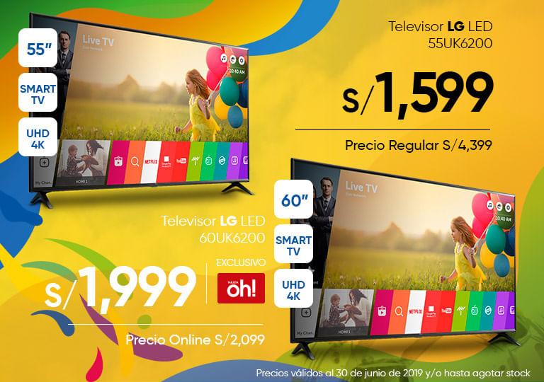 Televisor LG LED 55UK6200 60UK6200