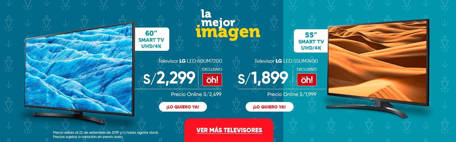 Televisor LG LED 60UM7200 55UM7400