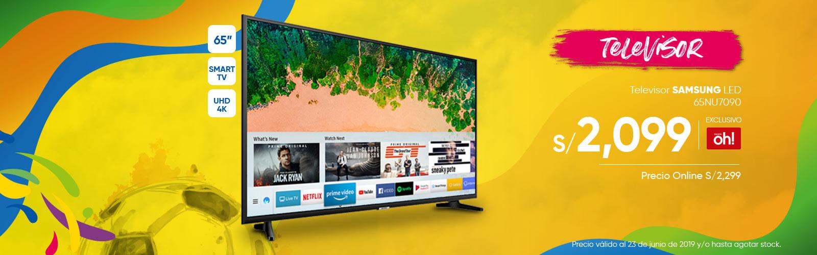 Televisor SAMSUNG 65NU7090