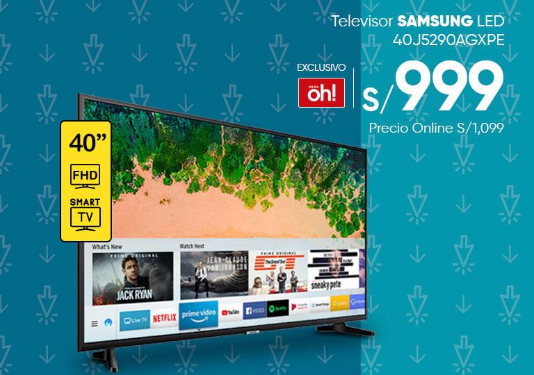 Televisor SAMSUNG LED 40J5290AGXPE