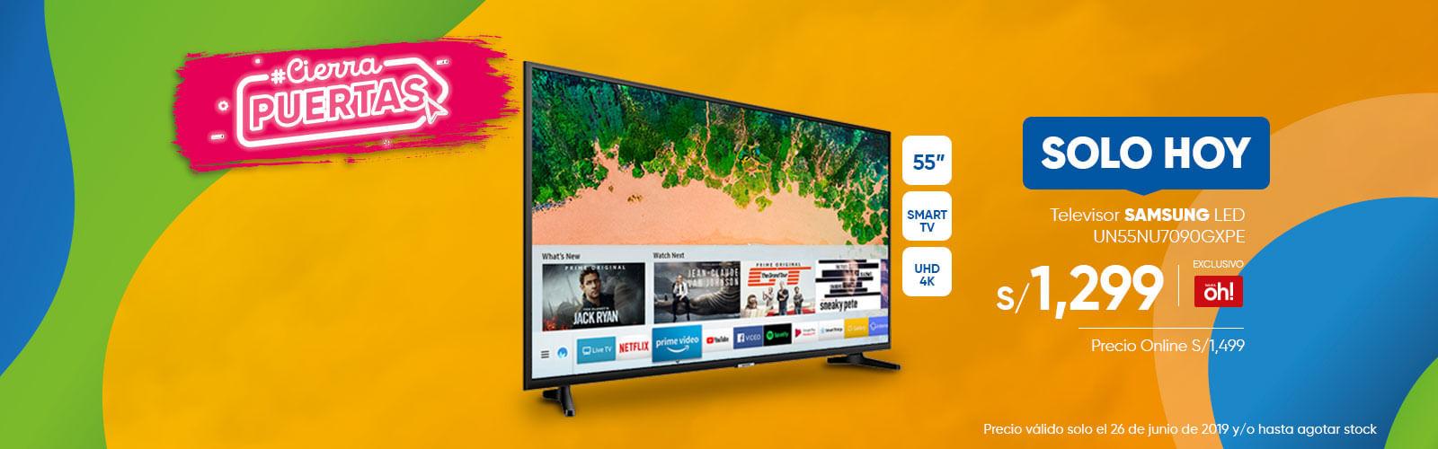 Televisor SAMSUNG LED UN55NU7090GXPE