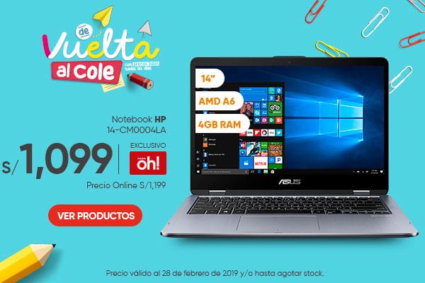 Notebook HP 15-DA0057