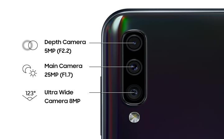 Samsung Galaxy A50 Triple Cámara
